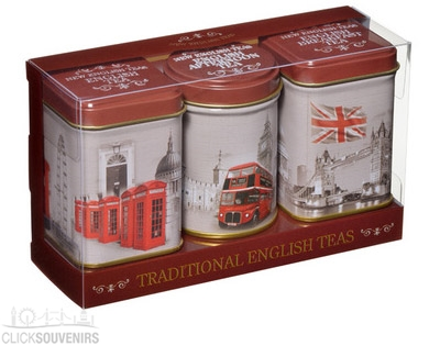 Vintage London English Tea Gift Set