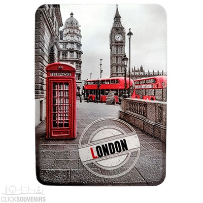 Vinyl 3D London Magnet With Big Ben