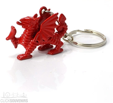 Welsh Dragon Keyring