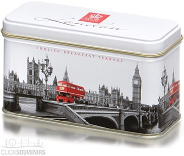 Westminster Tea Caddy with 14 English Teabags