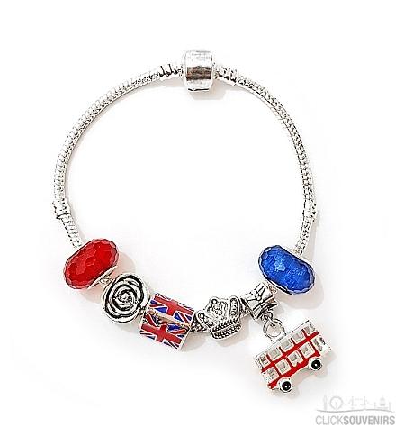 London Souvenir Charm Bracelet