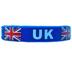Union Jack Silicone Wristband UK Souvenir