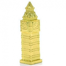 Gilt Gold Diecast Metal Big Ben Magnet