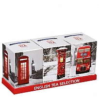 Christmas London Souvenir Tea Selection with 30 Teabags