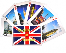 Sights of the British Capital London Playing Cards