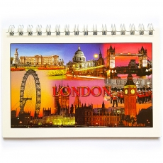London Collage Note Book