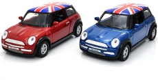 Gift Set of Two Die Cast Metal Mini Cooper Model Cars