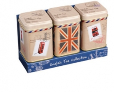 Travel Collection London Tea Tins Set