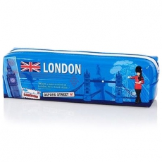 London Souvenir Scrapbook PVC Pencil Case