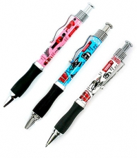 Gift Set of Three London Souvenir Ballpoint Pens