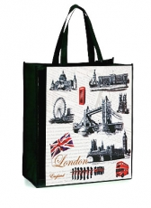 London Sights Non Woven Shopping Bag