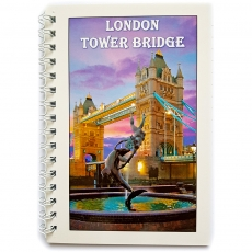 London Tower Bridge Note Book