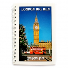 London Big Ben Note Book