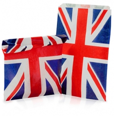 Union Jack Paper Gift Bag