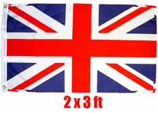 British Souvenir Union Flag 2 x 3 ft