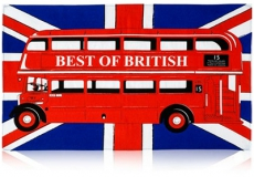 Best of British Bus Tea Towel