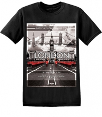 London Guards by Buckingham Palace T Shirt
