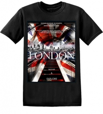 London Underground Union Jack T Shirt
