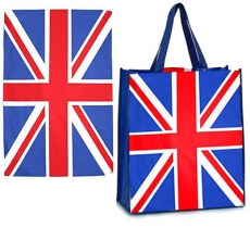 Union Jack Tea Towel and Shopping Bag Set