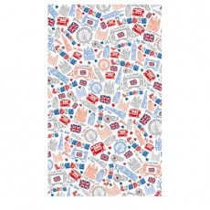 Souvenir London Doodles Tea Towel
