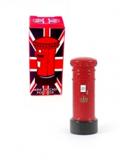 Miniature Red Post Box Model