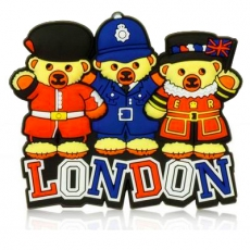 London Teddy Bears Magnet