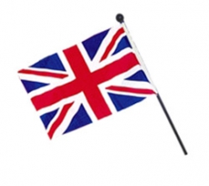 British Union Jack Flag 4 x 6 Inches