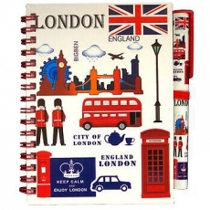 Keep Calm London Notebook and Pen Set