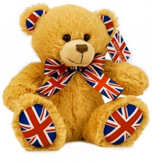 Union Jack Souvenir Teddy Bear