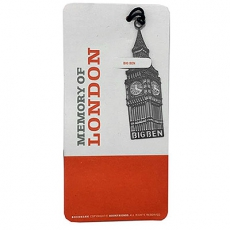 Metal Big Ben Bookmark