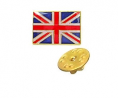 Union Jack Lapel Pin Badge