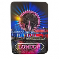 3D Vinyl London Eye Magnet