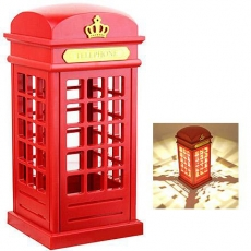 Light Up British Telephone Box