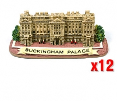 12x Buckingham Palace Fridge Magnets