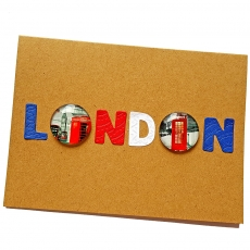 Handmade London Card