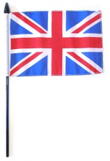 Handwaving British Union Jack Flag 6 x 9