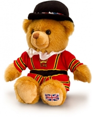 19cm Medium Beefeater Teddy Bear