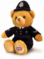 19cm Medium Policeman Teddy Bear