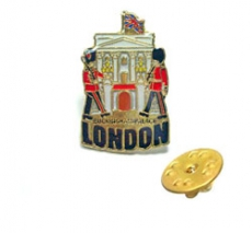 Metal Buckingham Palace Lapel Pin Badge