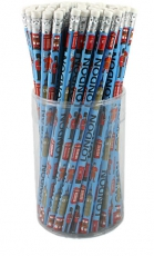72 Blue London Pencils