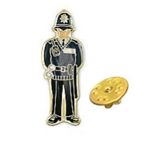 Policeman Metal Lapel Pin Badge
