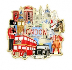 Absolutely Everything London Magnet