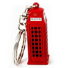 12x Telephone Box Keyrings Bulk Special Offer