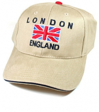 Cream London Union Jack Baseball Cap