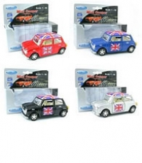 36x Union Jack Mini Cooper Model Car Bulk Offer