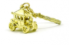 Coronation Carriage Keyring