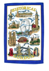 12x Historical London Tea Towels Bulk Offer