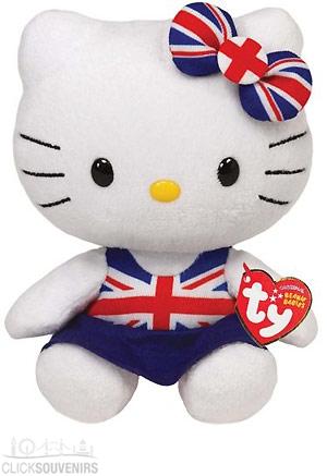 Union Jack Beanie Heloo Kitty