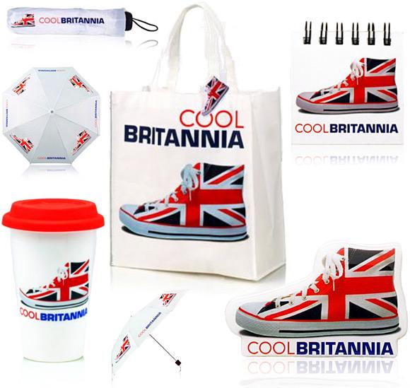 Cool Britannia Union Jack Souvenirs