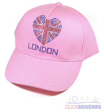 A Pink London Baseball Cap